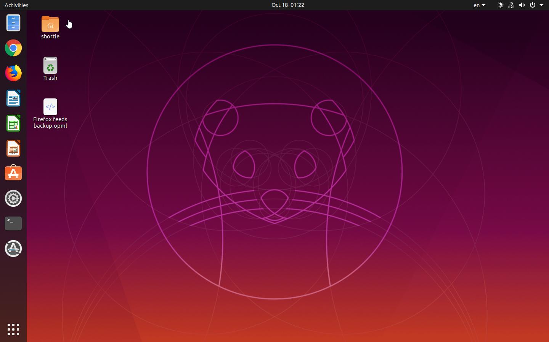 Ubuntu 19.10 (Eoan Ermine)